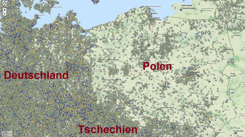 bunker deutschland karte Cachen in Polen – Ein Sachse auf Reisen